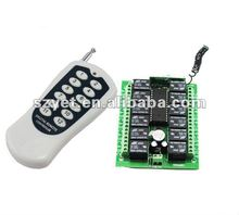 12CH RF Wireless Remote Control Transmitter & Receiver YET112D-412PC