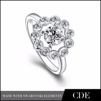 Guangzhou Wholesale Latest silver ring Designs,CDEJewelry silver ring