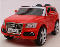 Audi Q5 licensed used toys for sale online, remote control car toys, ride on car with two opening doors