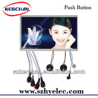 10.1 inch push button retail advertisement screen advertisement lcd sign