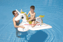 hot sale giant inflatable pegasus pool float raft,water mattress island