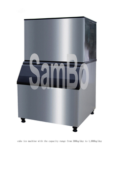 Restaurant equipments industrial ice machine/ice making machine/ice cube machine for cold drink