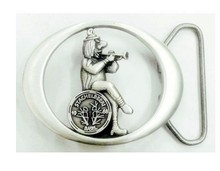 Wholesale Fashion Design Gift SILVER CUT Silver Belt Buckle
