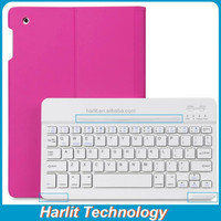 2015 Best Branded Bluetooth Keyboard Case For Apple iPad mini 4 Detachable Folio Bluetooth Keyboard Case For iPad mini 4