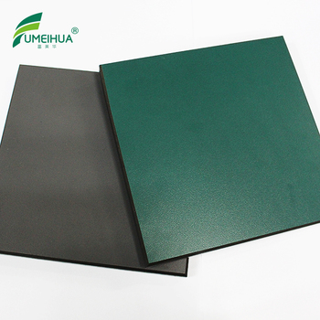 Green and Gray 12 mm chemical resistant hpl compact board