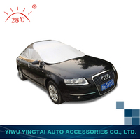 Latest product trendy style hast half car cover from manufacturer Car Sun Shade