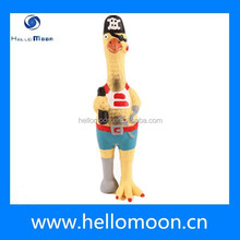 2015 High Quality Rubber Chicken for Dog Toy