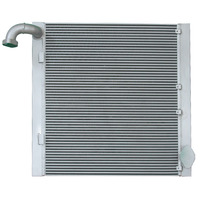 Factory row aluminum material oil cooler