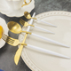 Wedding Souvenirs Stainless Steel Cutlery Set With White Handle