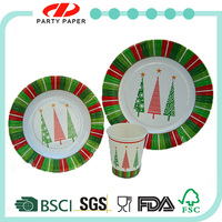 excellent after-sales service food safe high quality Christmas China Dinnerware on Sale