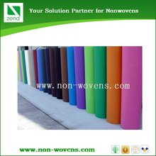 different colored pet impregnated nonwoven fabric China supplier
