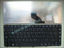 Original NEW Computer keyboard For ACER 3810 4733 4741 4738 SP spanish BLACK