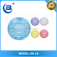 Toilet plastic urinal screen,colorful urinal fragrance mat wholesale price