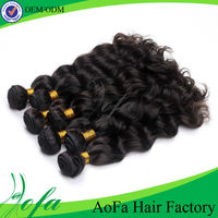 New arrival! Wholesale AAAAA 100% human unprocessed body wave red indian remy hair weave