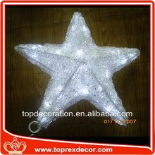 CE ROHS star christmas light lion motif