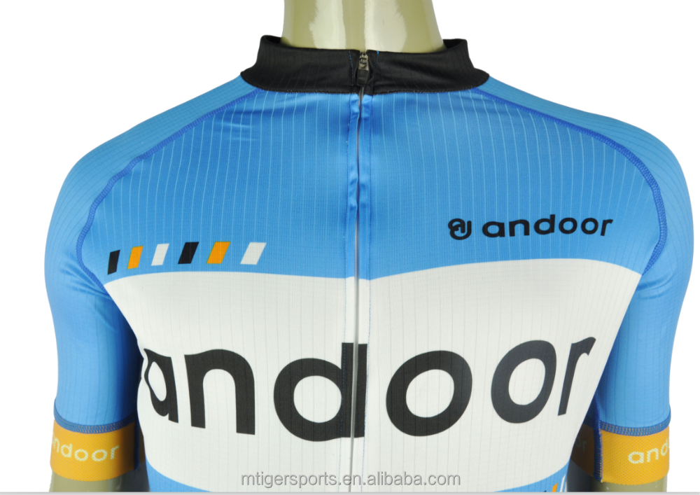 Andoor pro team sublimated bicycle apparel cycling kits