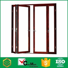 Modern house ventilate interior entry folding door