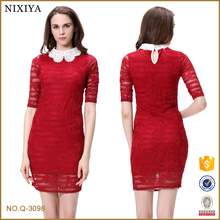 ladies women african new model dress & ladies fashion lace dresses