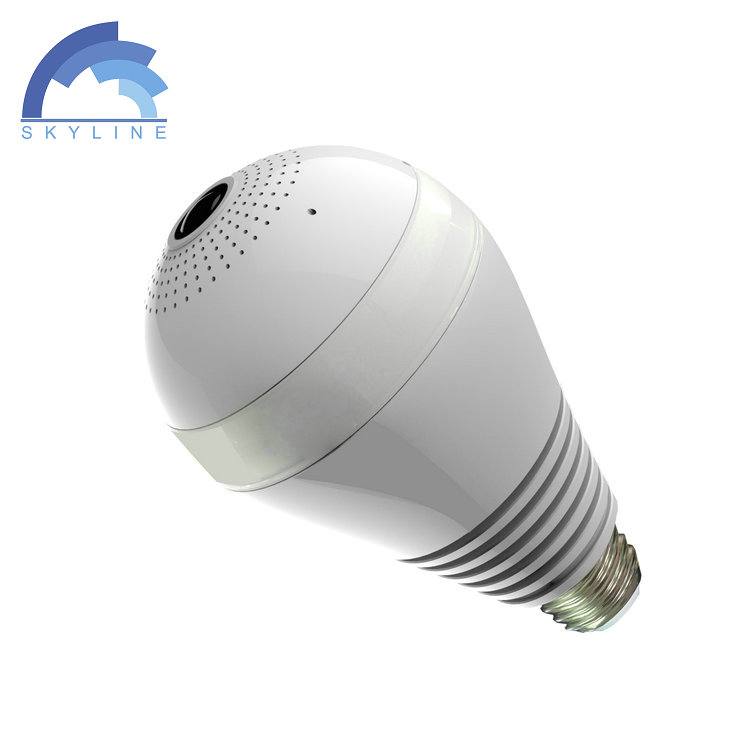 960P wifi security lamp hidden camera light bulb automatically