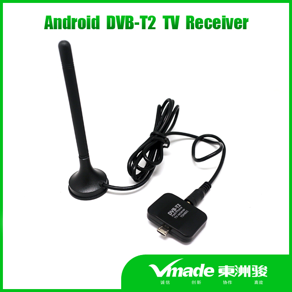 DVB T2 Android TV Tuner Digital Receiver Mini USB dvb t2 pad tv tuner