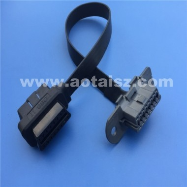S06 OBD2 Cable 16pin J1962M to J1962F OBD II Extension Cable