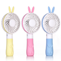 wholesale china mini personal handy portable usb rechargeable fan with lanyard