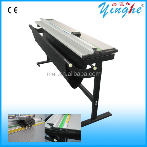 Rotary paper cutter for photo album making machine