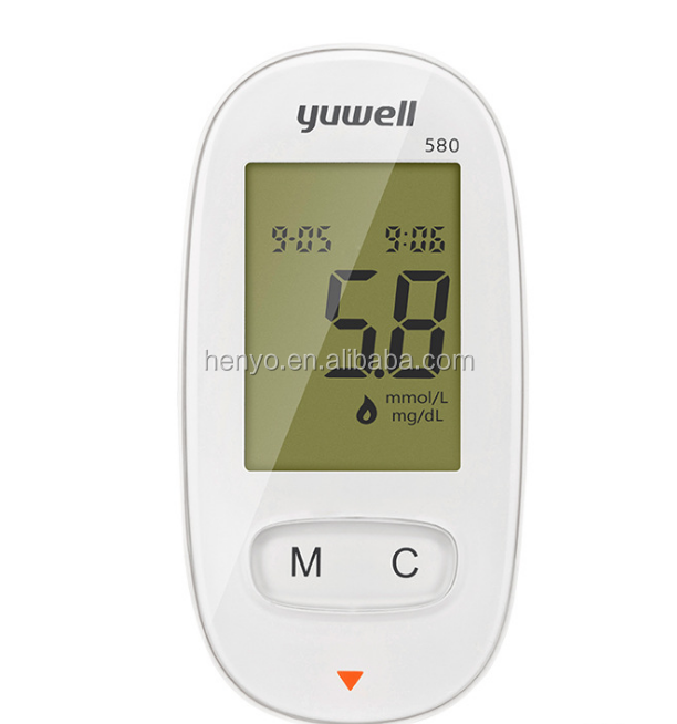 Medical grade blood glucose meter with blood glucose test strips