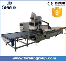 hot sale auto load and unload nesting ATC cnc router machine kits for panel furniture cabinet with best price