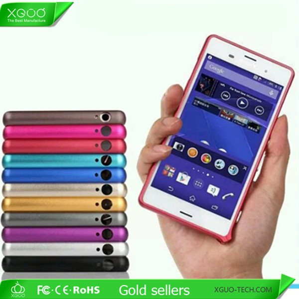 metal frame bumper case for sony z3