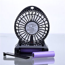 Alibaba Wholesale Li-lion Battery 18650 Air cooling mini desk fan
