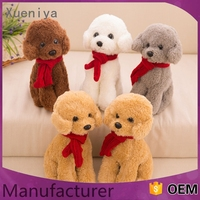 2016 hot sale oem multifunctional plush woven dog toy