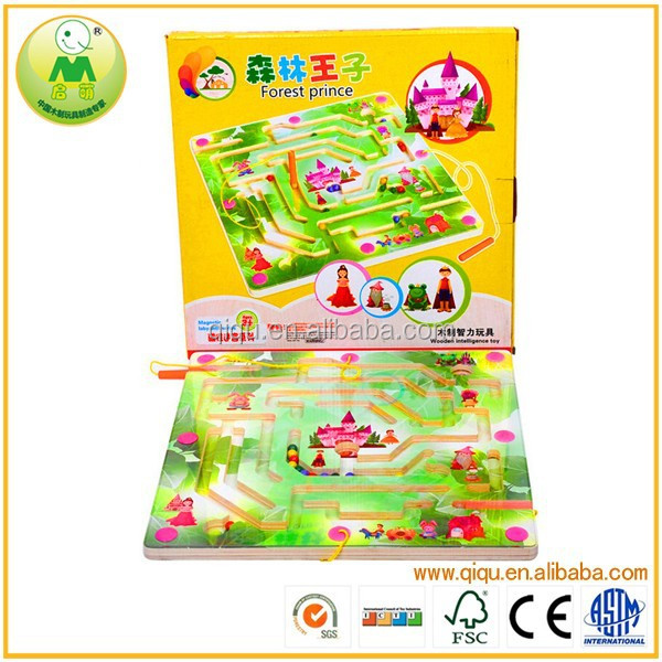 Child And Adult Forest Prince Magnetic Maze Brain <strong>Game</strong>