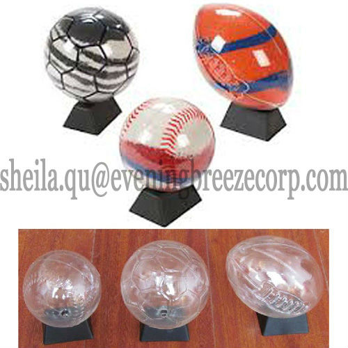 wholesale sport footabll baseball rugby ball diy plastic sand art toy