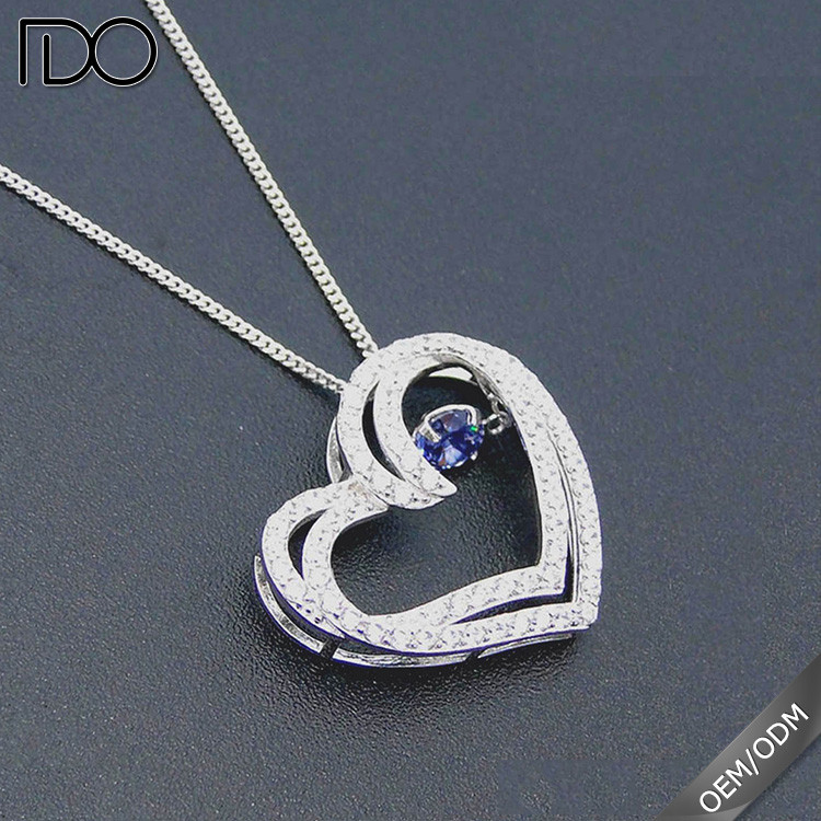 High quality promotion uncut diamond necklace sets
