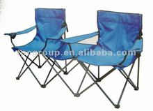 double foldable camping chair