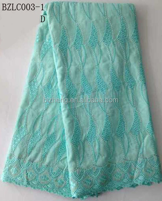 Guangzhou top one swiss guipure voile lace