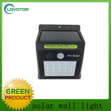 800mAh battery solar motion sensor led light 3.7V small motion sensor light