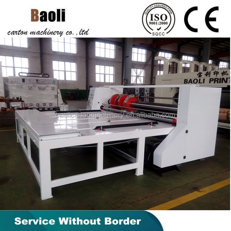 Hebei dongguang rolling the line slotting cutting the corner machine