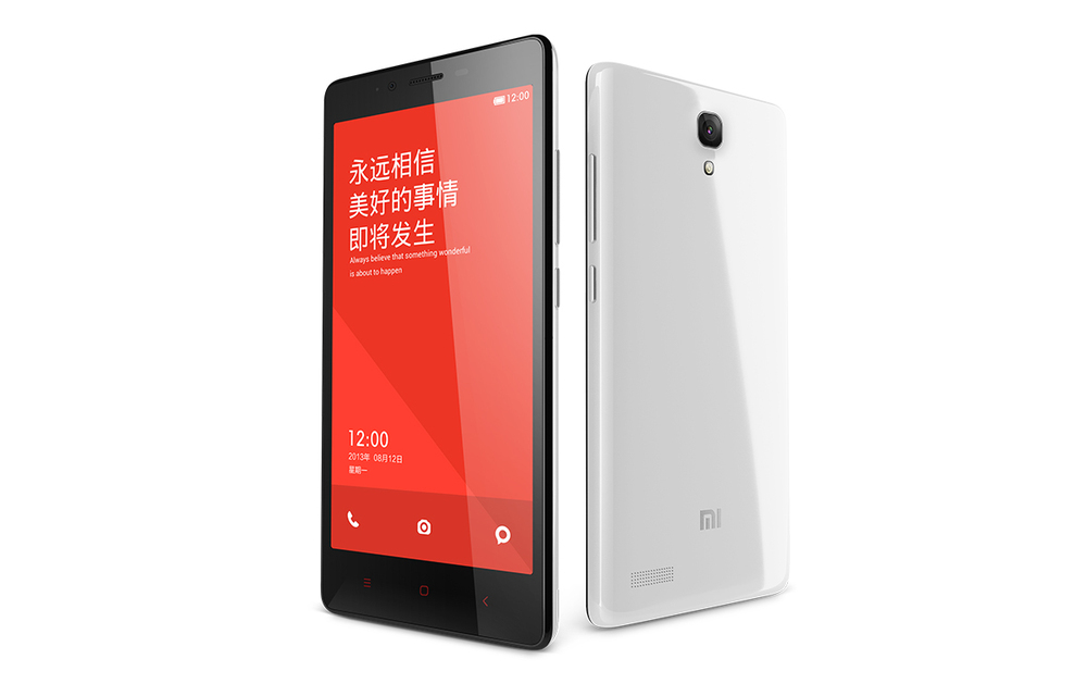 Xiaomi Redmi NOTE 4G LTE Cell Phone 5.5 inch Snapdragon 410 Quad Core Android 4.4 Mobile Phone 1GB RAM 8GB ROM 13MP Smart Phone