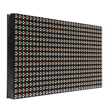 High quality low price display board material rgb full color p10 outdoor led module