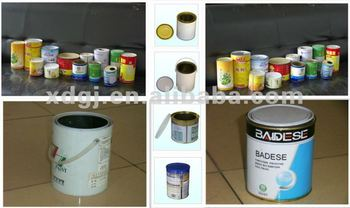 paint/oil/food tin can machine production line