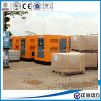 Professional 4-cylinder diesel engine 40kw generator price with engine
