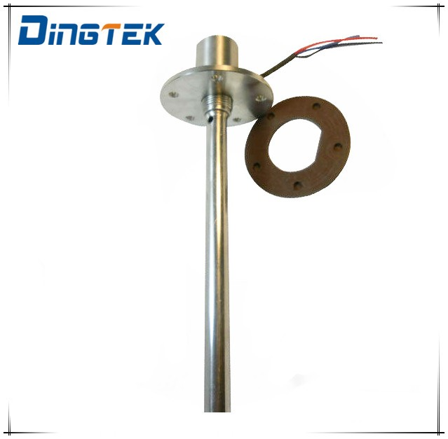 F300 4-20ma Diesel fuel tank level sensor/Stainless steel capacitive water level meter with RS232 RS485 digital output