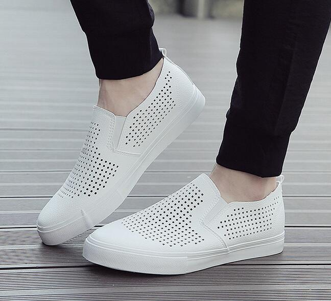 Hot selling best quality mesh upper breathable summer fashion casual shoes men