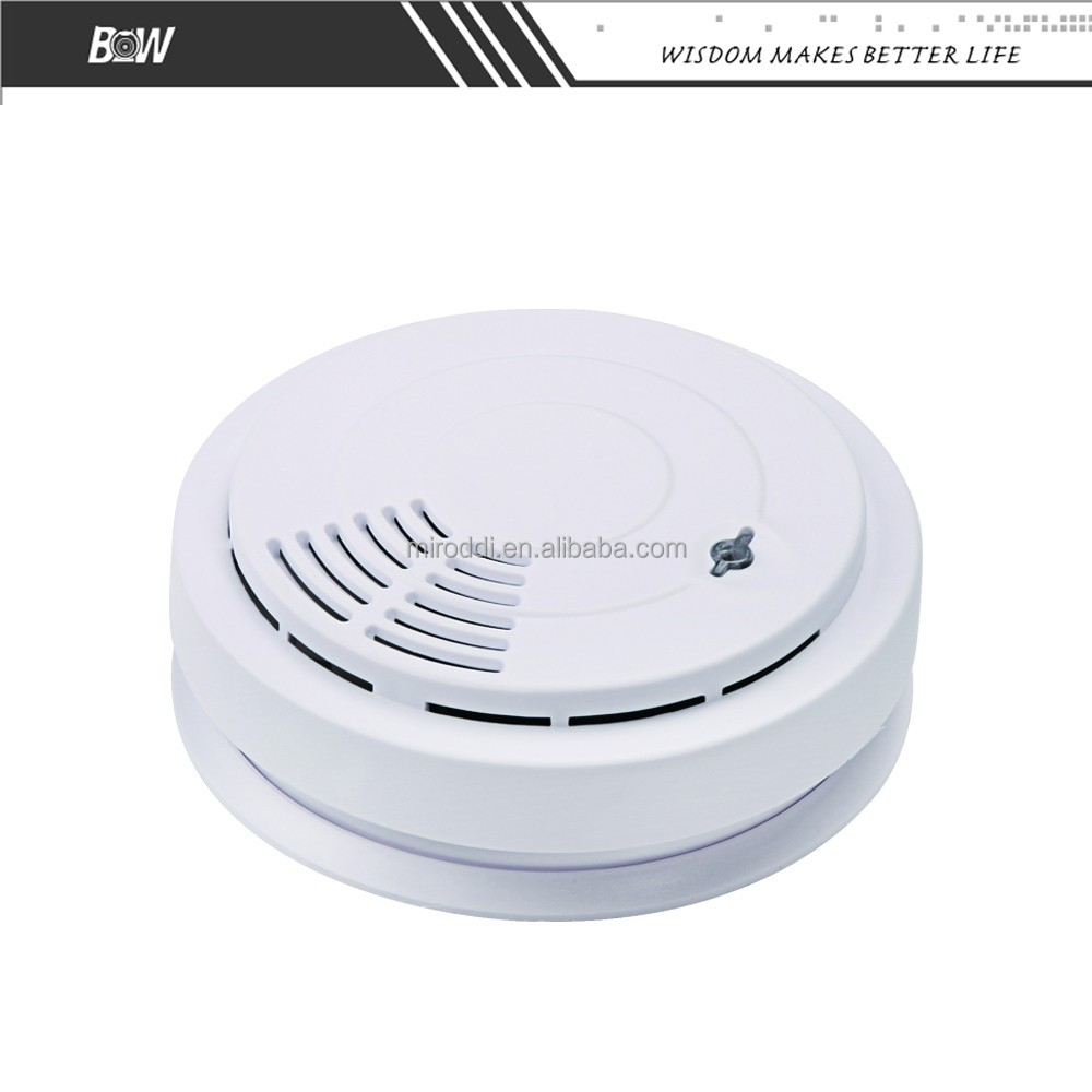indoor security device wireless smoke heat alarm detector with favourable pri. Black Bedroom Furniture Sets. Home Design Ideas
