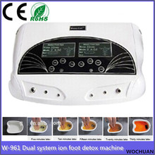 health care products dual systerm ino detox foot cleaning machine