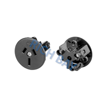 Oceania Australia/New Zealand AC Receptacles 15A 250V Power outlet AS/NZS 3112 with black circular socket set