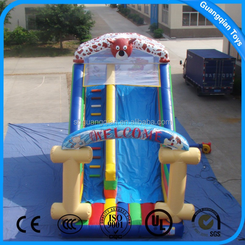 Shanghai Commercial Use Playground Giant Inflatable Slide for Sale