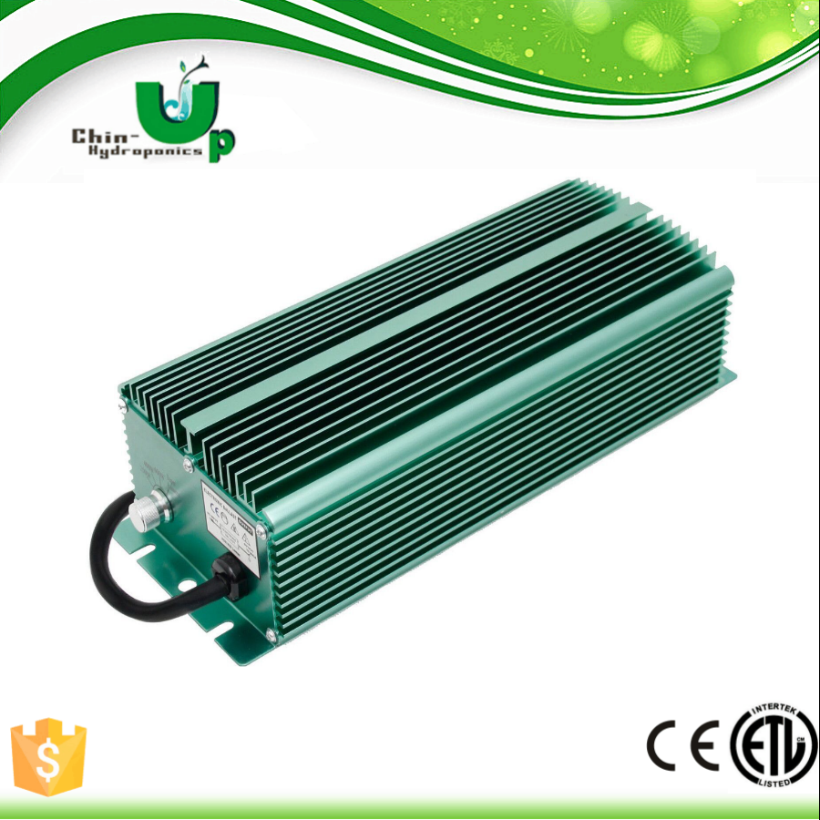 2016Hydroponics 1000w/ 600W/ 400W electronic ballast/ e digital electronic ballast with no fan/hydroponics grow light ballast